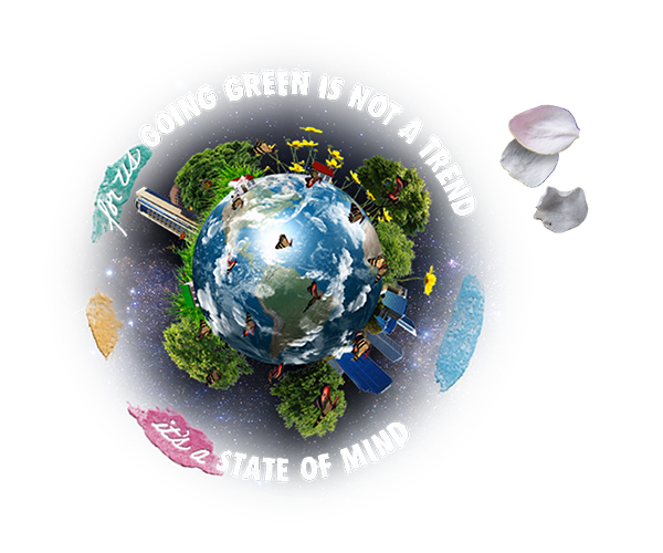 Going green is not a trend
