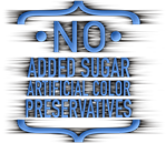 No Added Sugar, Artificial Color or Preservatives